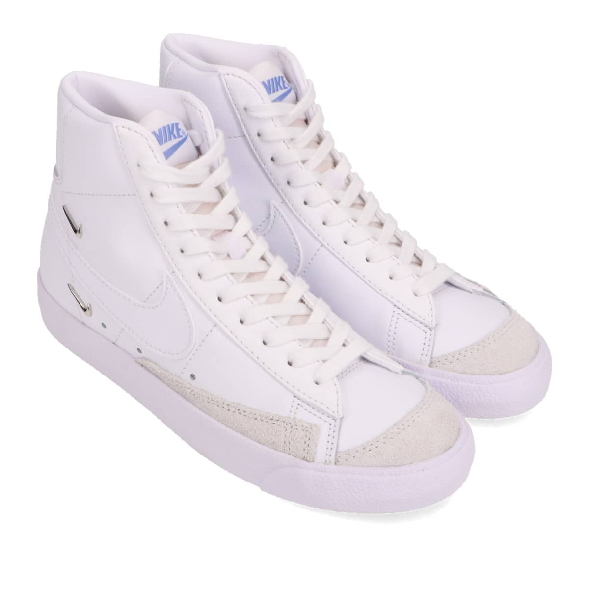 NIKE W BLAZER MID '77 SE WHITE/WHITE-HYPER ROYAL 20HO-I_photo_large