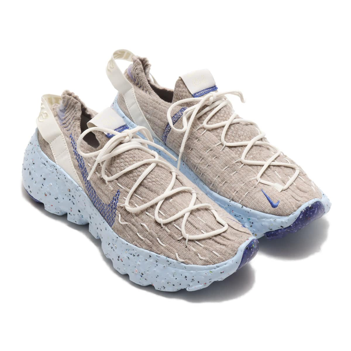 NIKE SPACE HIPPIE 04 SAIL/ASTRONOMY BLUE-FOSSIL-CHAMBRAY BLUE 20FA-I_photo_large
