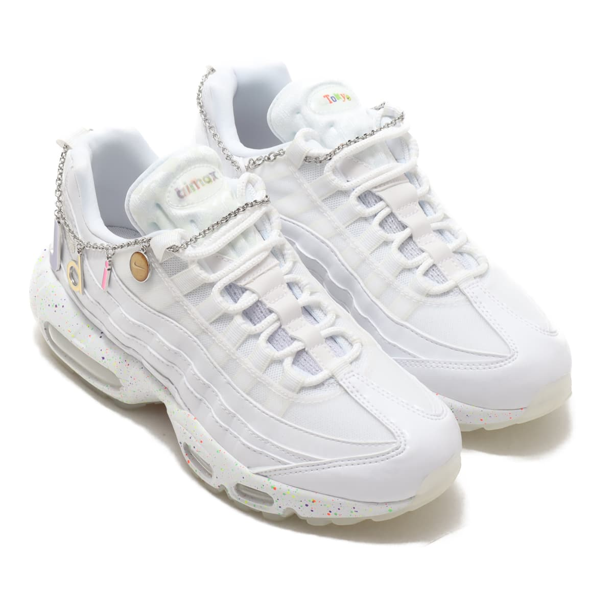 NIKE WMNS AIR MAX 95 WHITE/METALLIC SILVER-POISON GREEN 20FA-I_photo_large