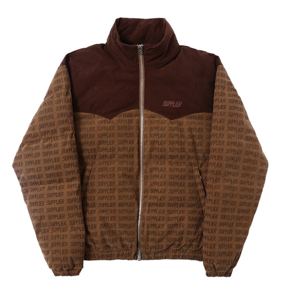 SUPPLIER BROWN CORDUROY PUFFER BROWN 20HO-I_photo_large