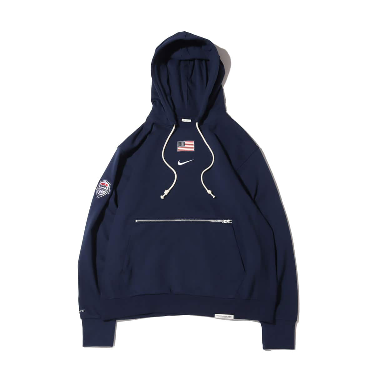 NIKE USA M NK STANDARD ISSUE PO HDY COLLEGE NAVY 21FA-I_photo_large