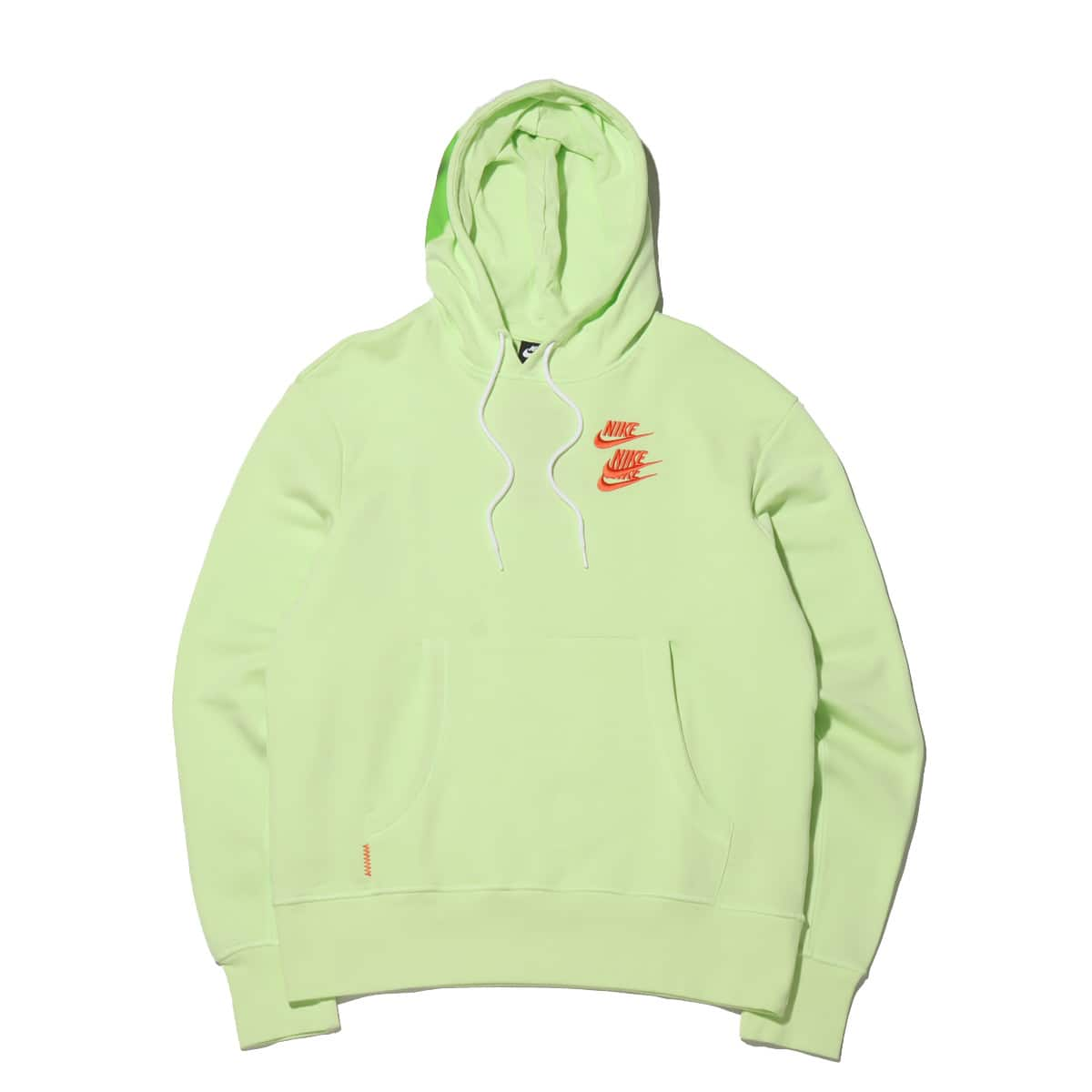 NIKE AS M NSW PO FT HOODIE WTOUR LT LIQUID LIME 21SP-I_photo_large