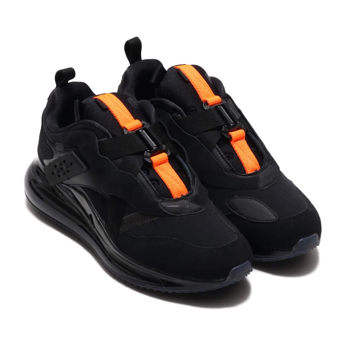 NIKE AIR MAX 720 SLIP / OBJ BLACK/BLACK-TOTAL ORANGE 20SP-S_photo_large