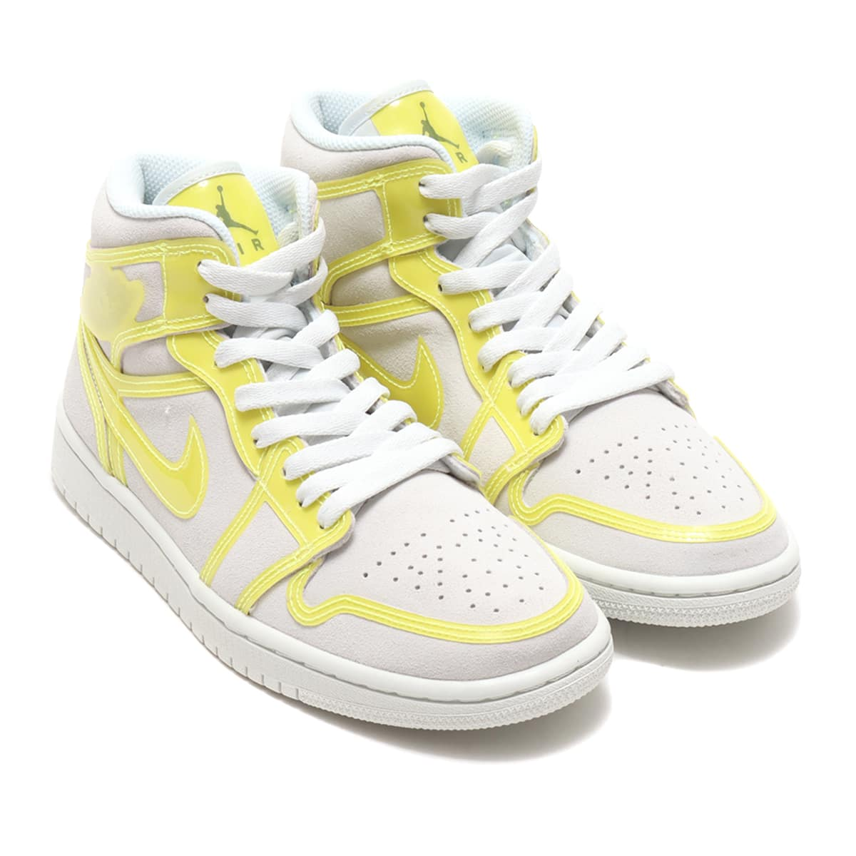 JORDAN BRAND WMNS AIR JORDAN 1 MID LX OFF WHITE/OPTI YELLOW-WHITE 21SP-I_photo_large