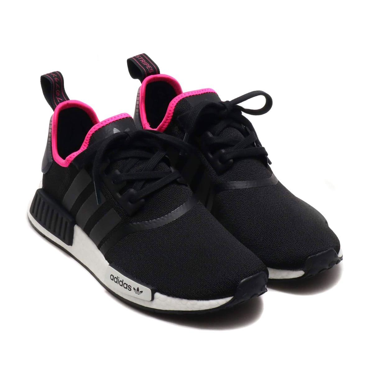 adidas Originals NMD_R1 CORE BLACK/CORE BLACK/SHOCK PINK 19SS-I_photo_large