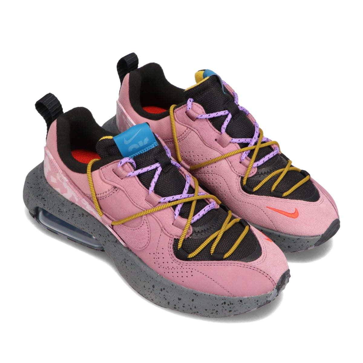 NIKE W AIR MAX VIVA BLACK/PLUM DUST-DARK CITRON-GREEN ABYSS 21SP-I_photo_large