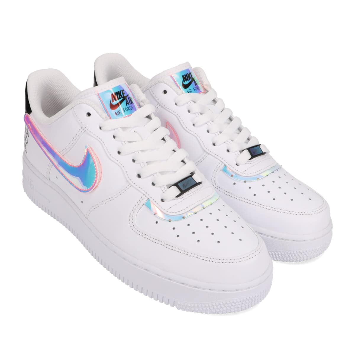 NIKE AIR FORCE 1 '07 LV8 WHITE/MULTI-COLOR-WHITE-BLACK 20HO-I_photo_large