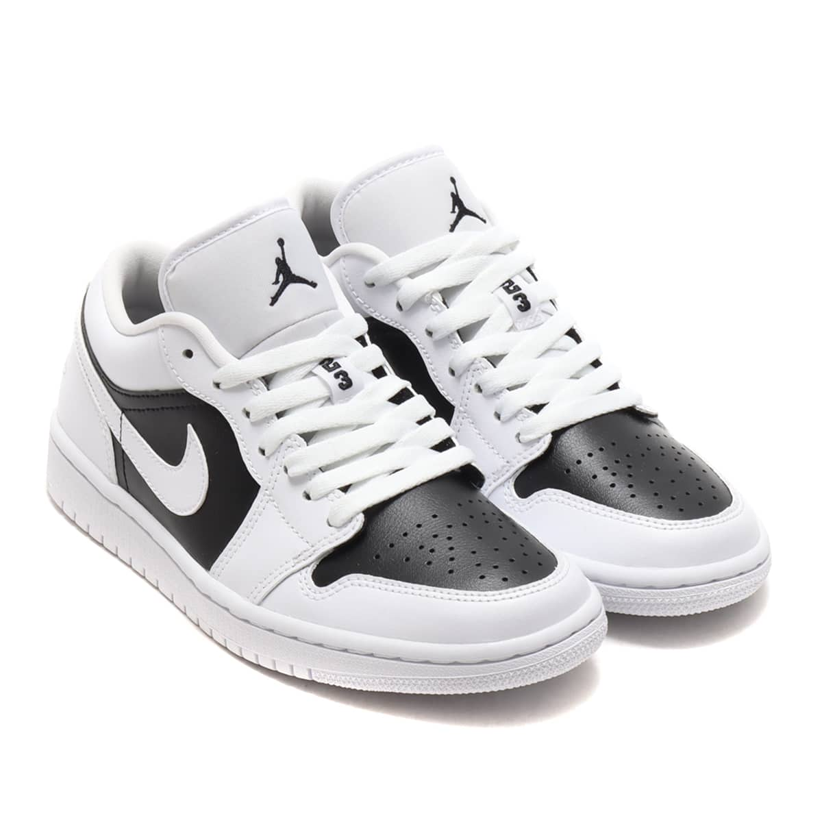 JORDAN BRAND WMNS AIR JORDAN 1 LOW WHITE/WHITE-BLACK 21SU-I_photo_large