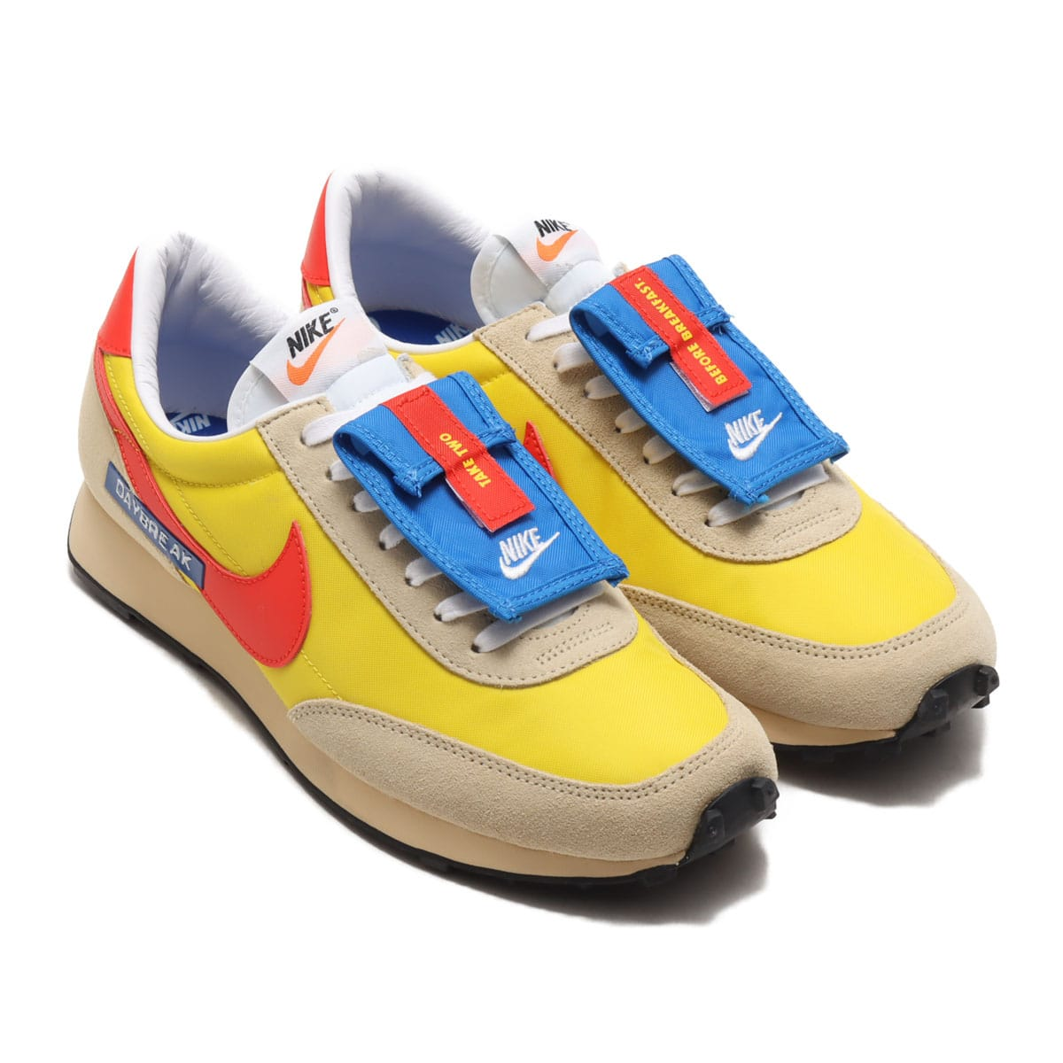 NIKE W DBREAK SPEED YELLOW/HABANERO RED-TEAM GOLD 20HO-I_photo_large