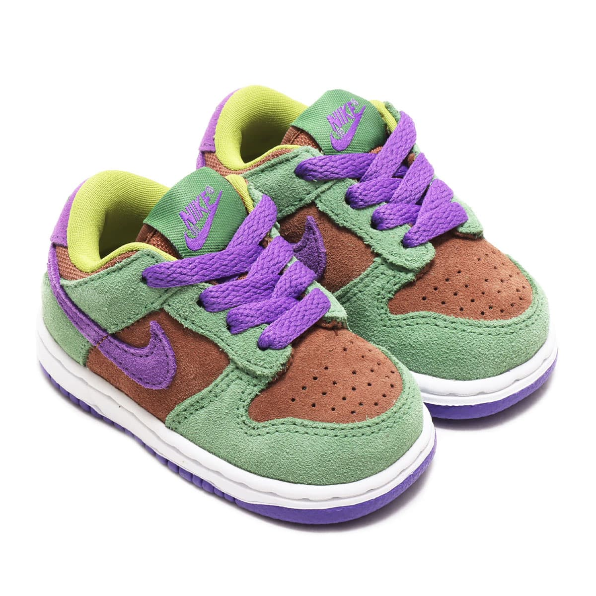 NIKE DUNK LOW SP (TD) VENEER/DEEP PURPLE-AUTUMN GREEN 20HO-S_photo_large