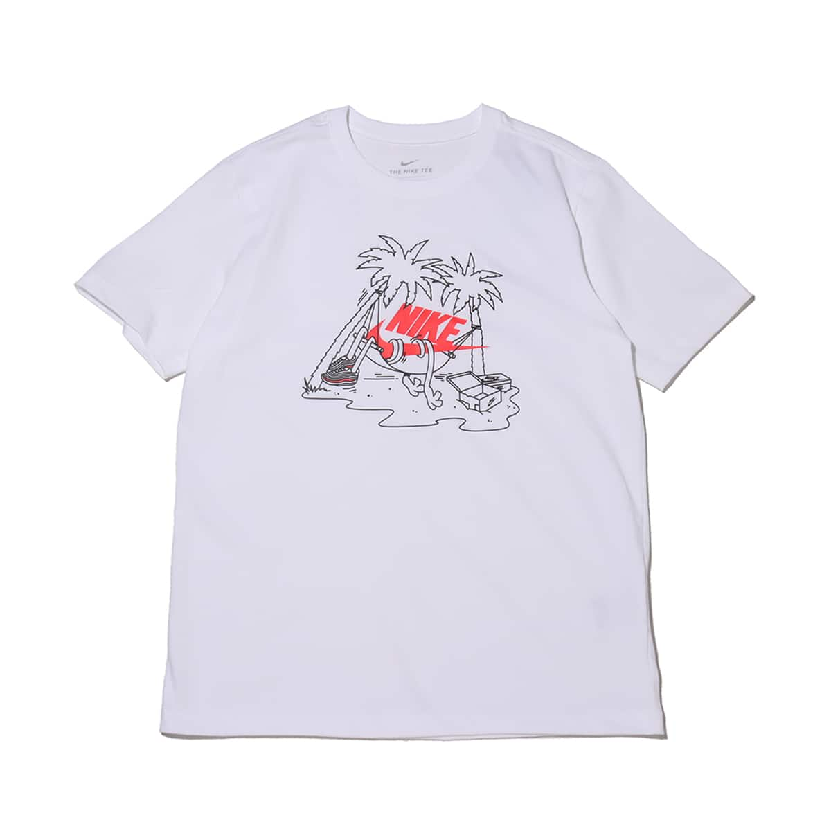 NIKE AS M NSW TEE FUTURA TREE WHITE 21SU-I_photo_large