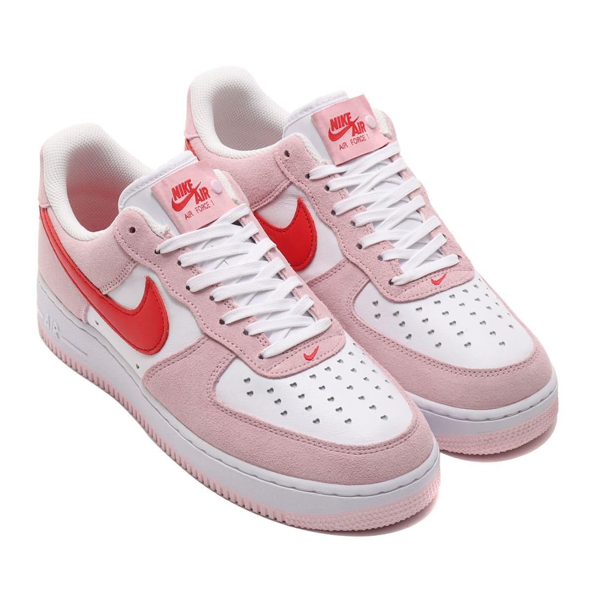 NIKE AIR FORCE 1 '07 QS TULIP PINK/UNIVERSITY RED-WHITE 21SP-S_photo_large