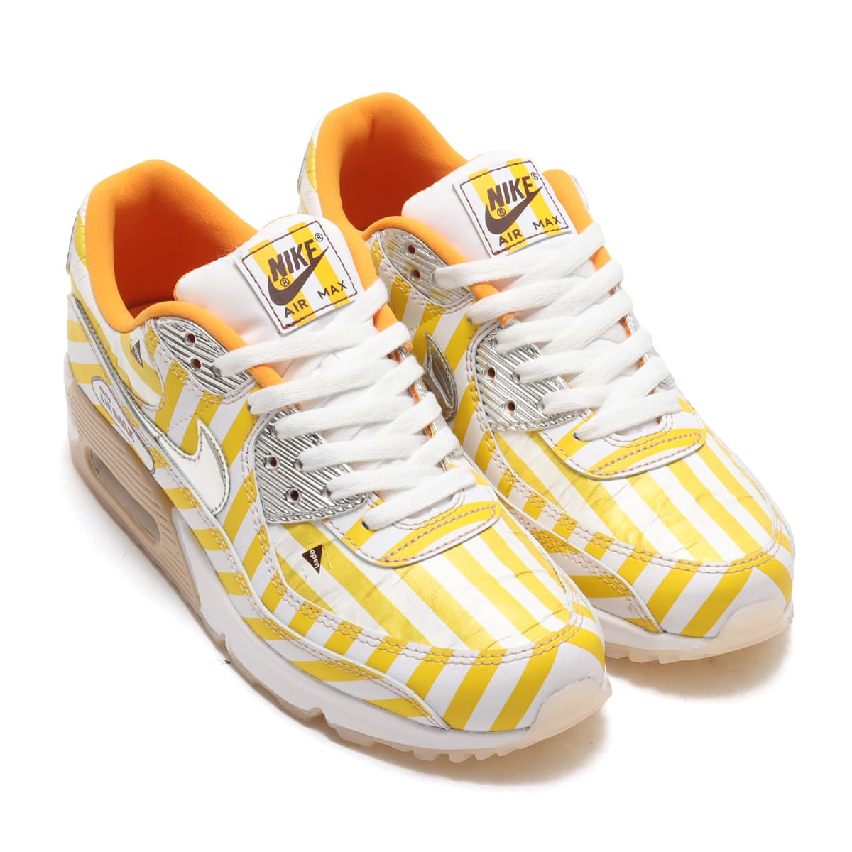 NIKE AIR MAX 90 SE SPEED YELLOW/SHIMMER-WHITE-SIREN RED 21SP-I_photo_large