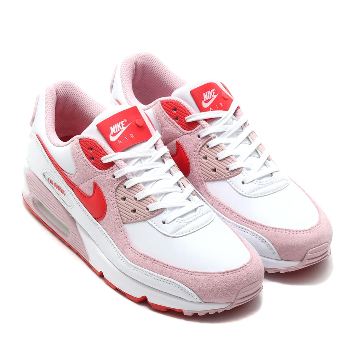 NIKE W AIR MAX 90 QS WHITE/UNIVERSITY RED-TULIP PINK-WHITE 21SP-S_photo_large
