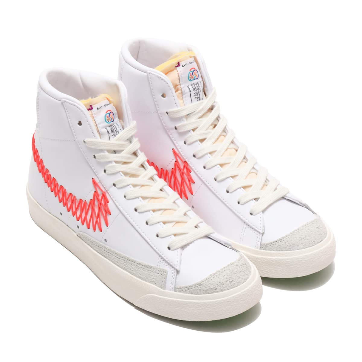 NIKE BLAZER MID '77 VNTG WHITE/BRIGHT CRIMSON-SAIL-SUMMIT WHITE 21SP-I_photo_large