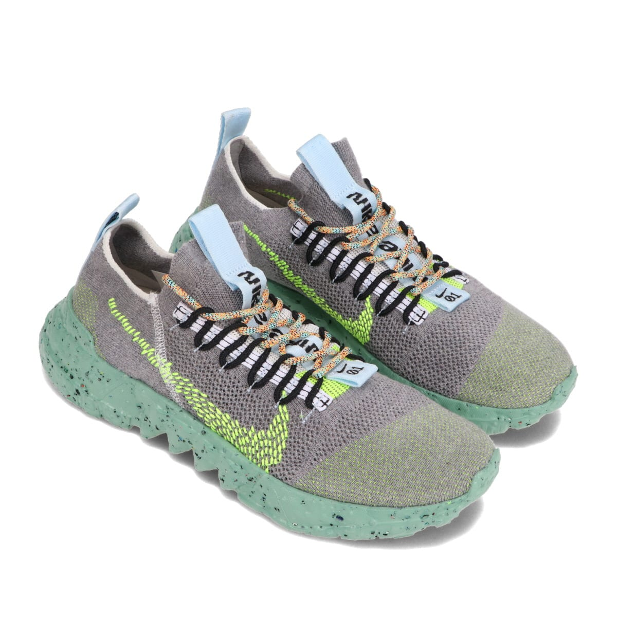 NIKE SPACE HIPPIE 01 WOLF GREY/VOLT-BLACK-WHITE 21SP-I_photo_large