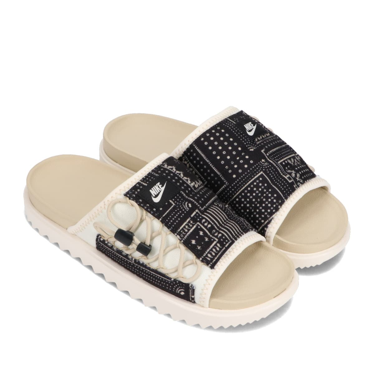 NIKE ASUNA SLIDE PALE IVORY/RATTAN-BLACK-RATTAN 21SU-I_photo_large