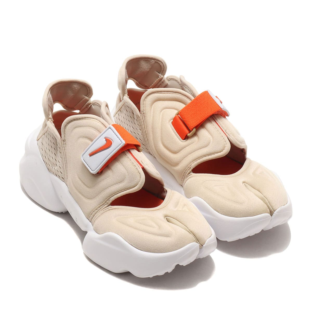 NIKE W AQUA RIFT RATTAN/ORANGE-WHITE-RATTAN 21SU-I_photo_large