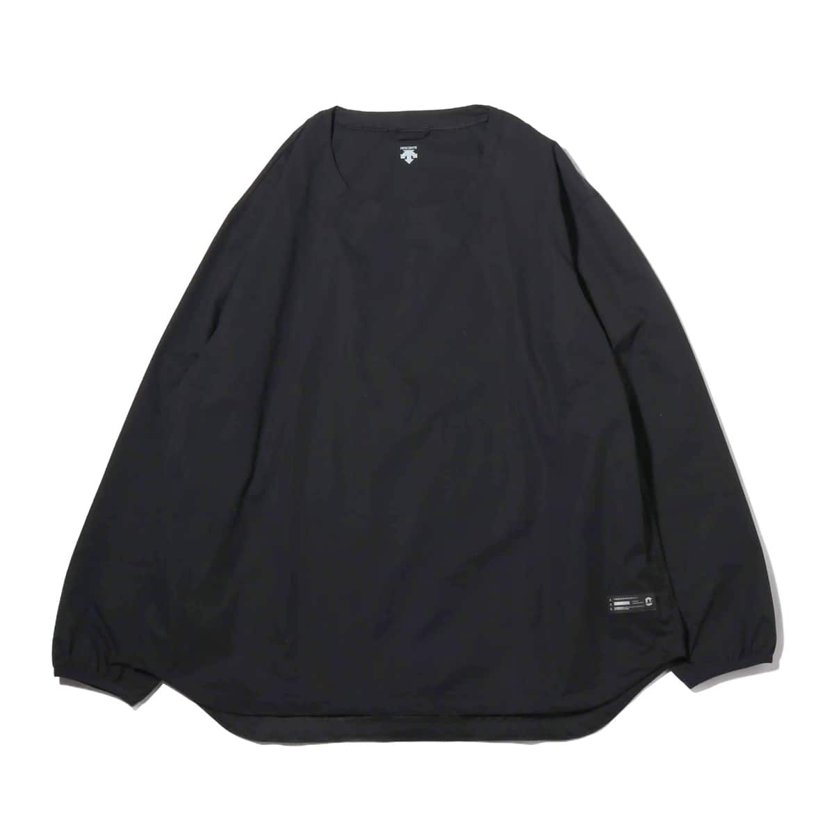 DESCENTE ddd X ATMOS LAB L/S PULLOVER SHIRT BLACK 19SP-I_photo_large