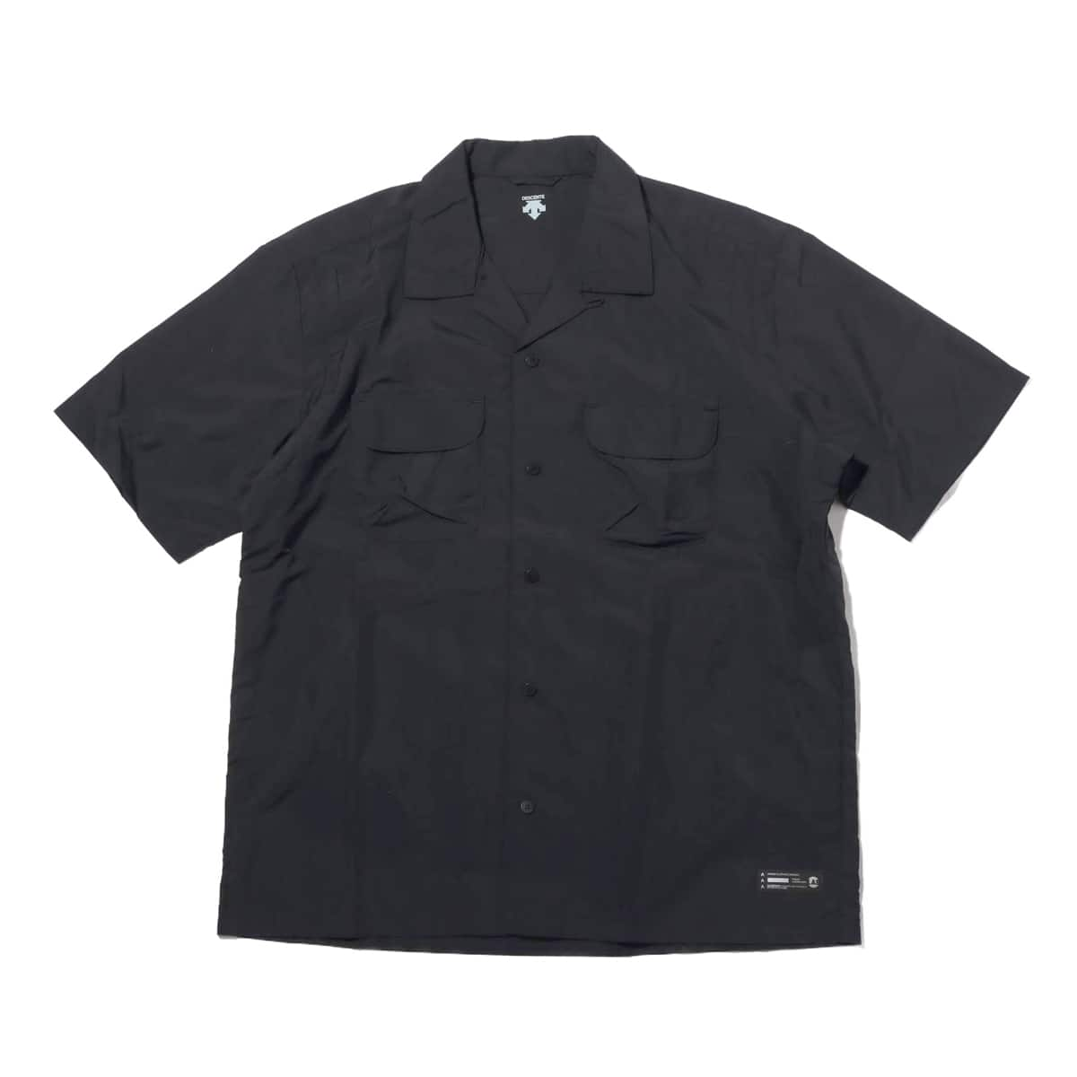 DESCENTE ddd X ATMOS LAB H/S BORING SHIRT BLACK 19SP-I_photo_large