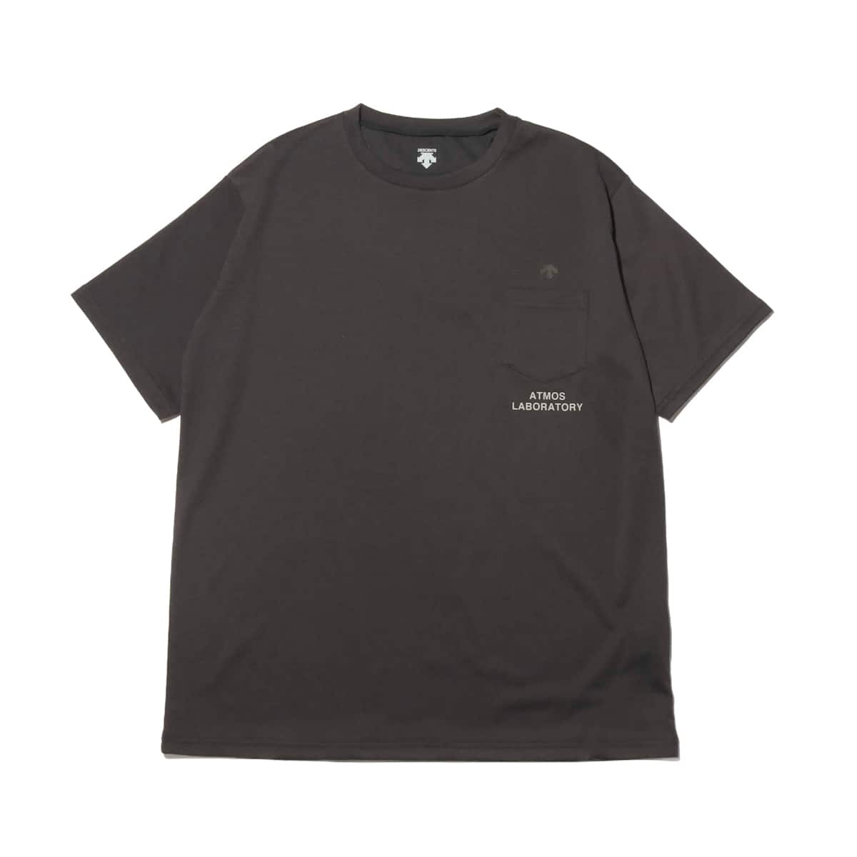 DESCENTE ddd X ATMOS LAB POCKET T-SHIRT BLACK 19SP-I_photo_large