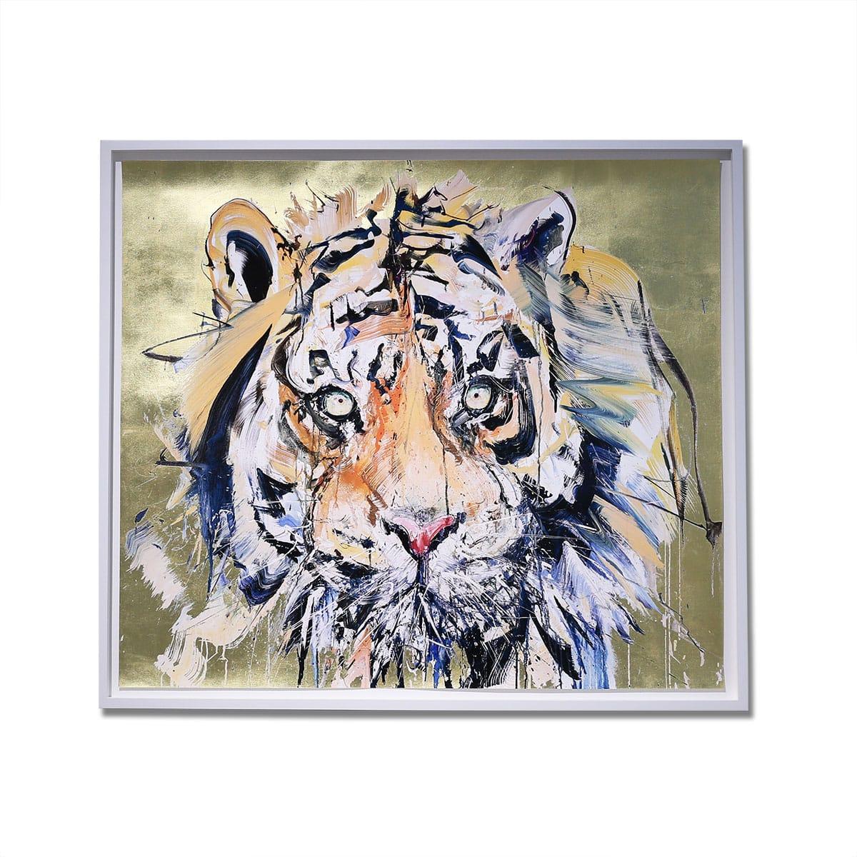DAVE WHITE Tiger Gold Leaf 19FW-I_photo_large