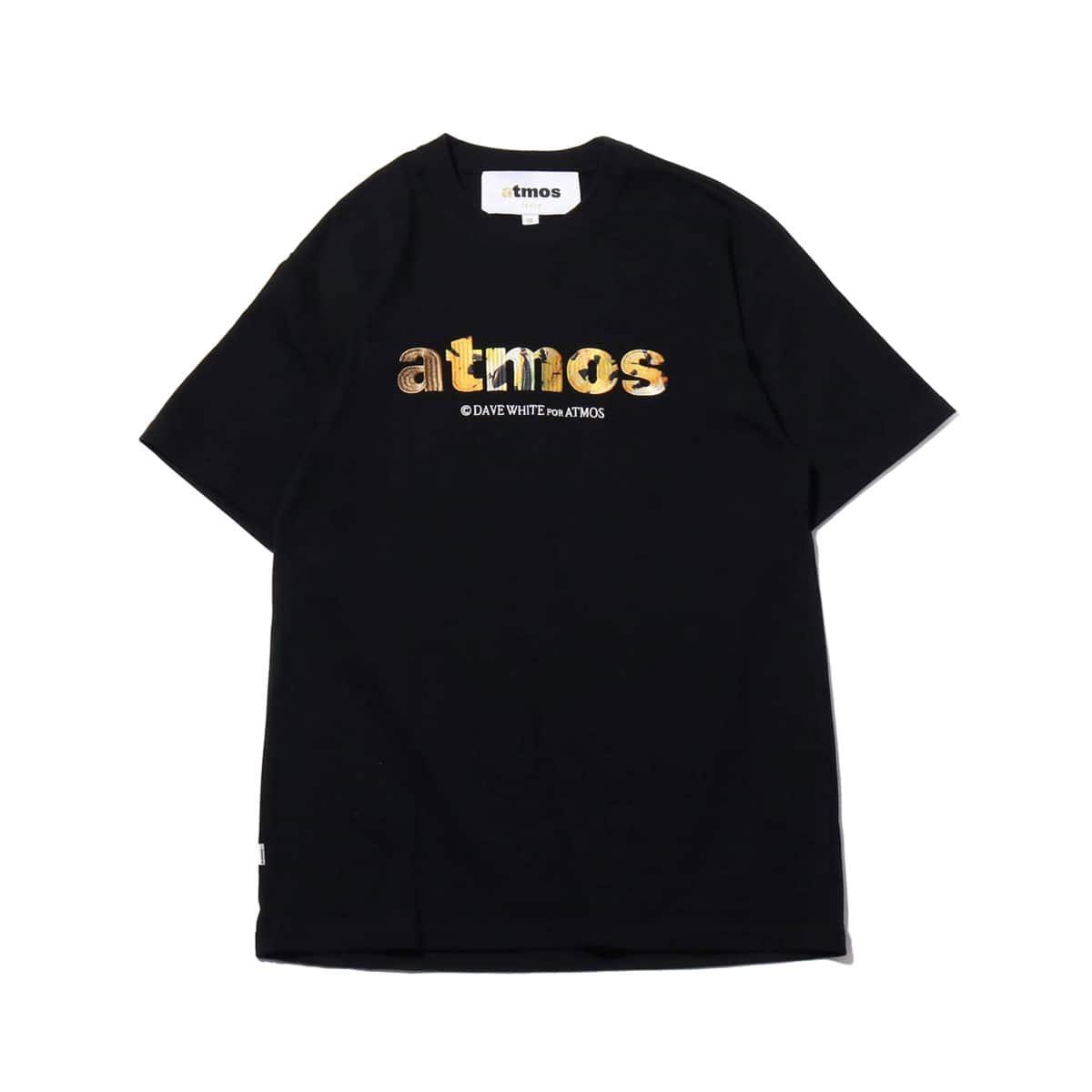 atmos x DW LOGO TEE BLACK 19SU-S_photo_large