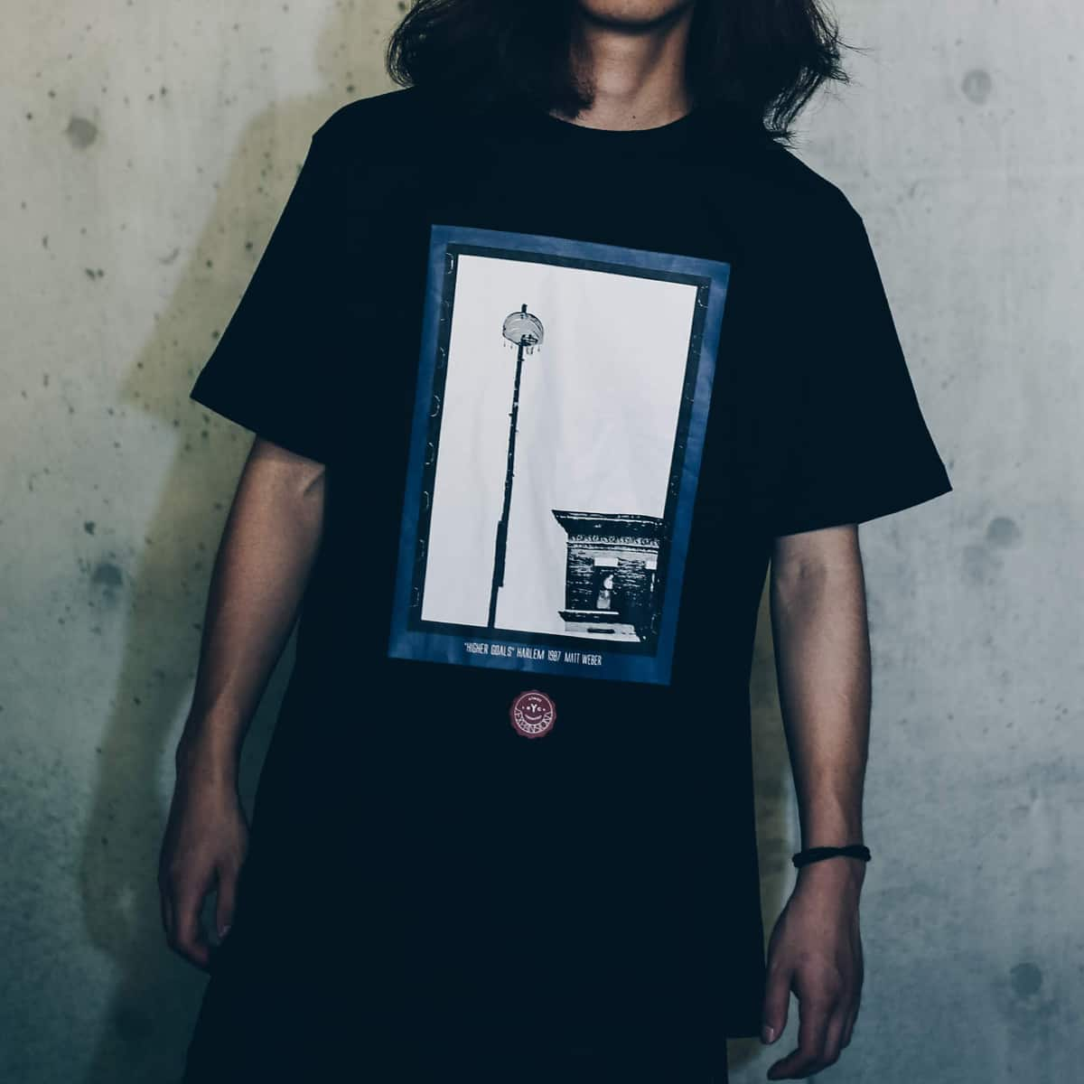 EXPANSION x ATMOS LAB HIGH GOAL TEE  BLACK_photo_large