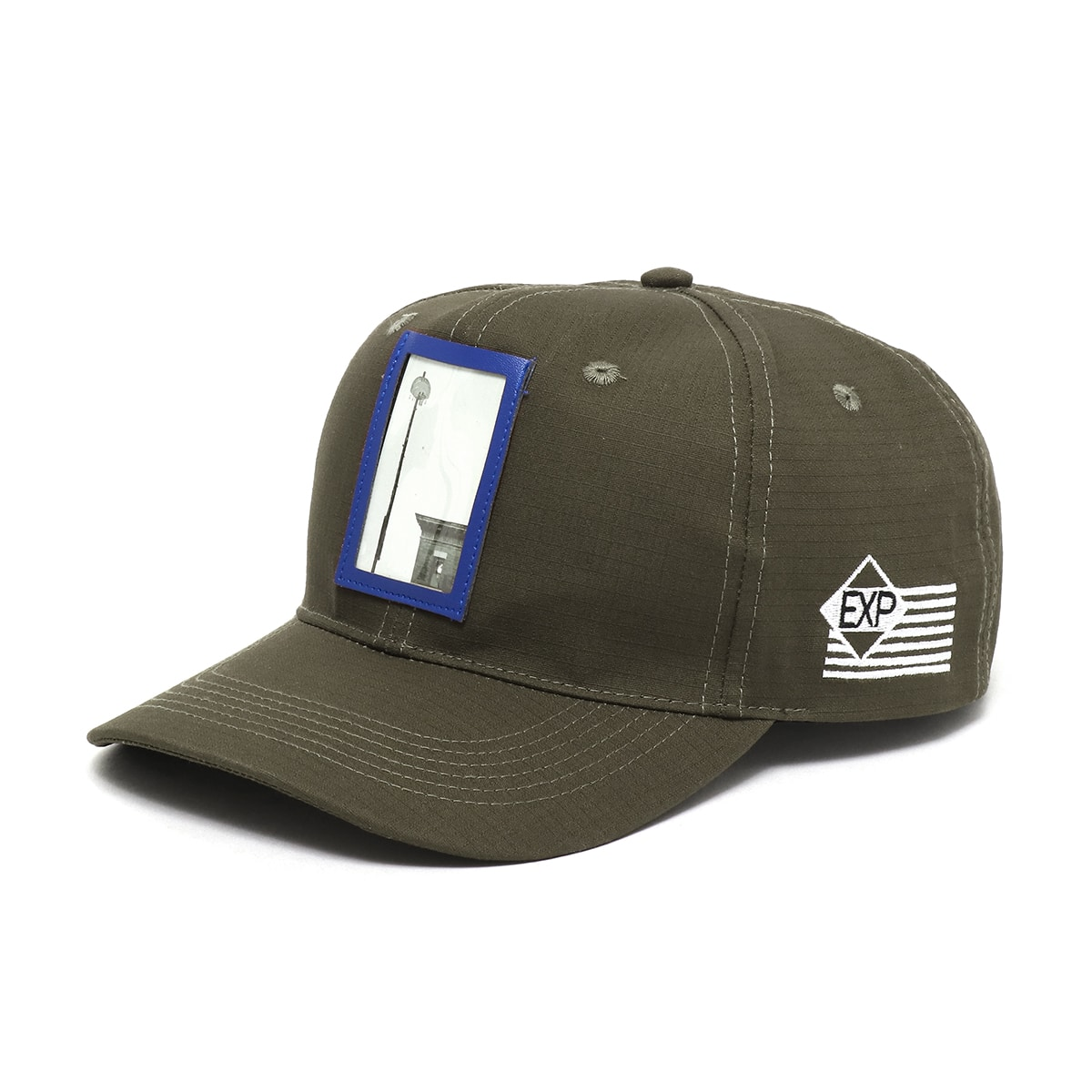 EXPANSION x ATMOS LAB 6PANEL CAP  OLIVE GREEN_photo_large