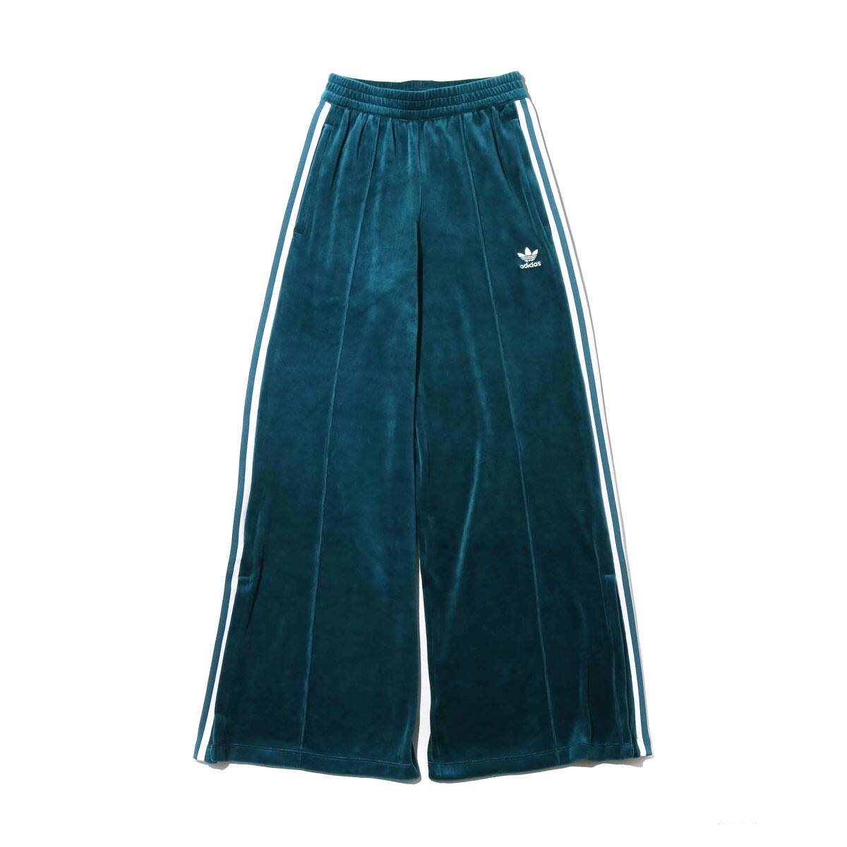 adidas VELVET TRACK PANTS TECH MINERAL 19FW-I_photo_large