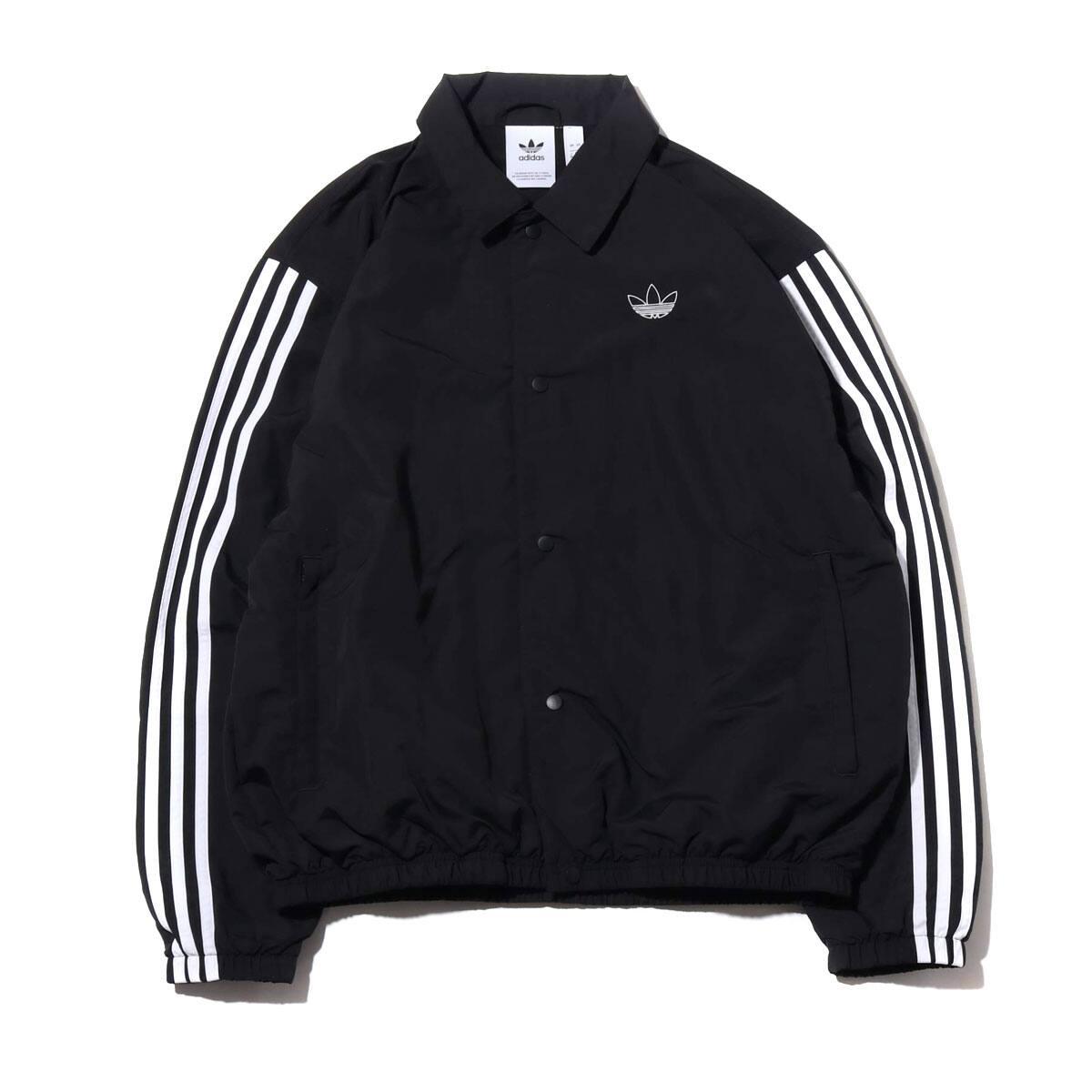 adidas TREFOIL COACH JACKET BLACK/WHITE 19FW-I_photo_large