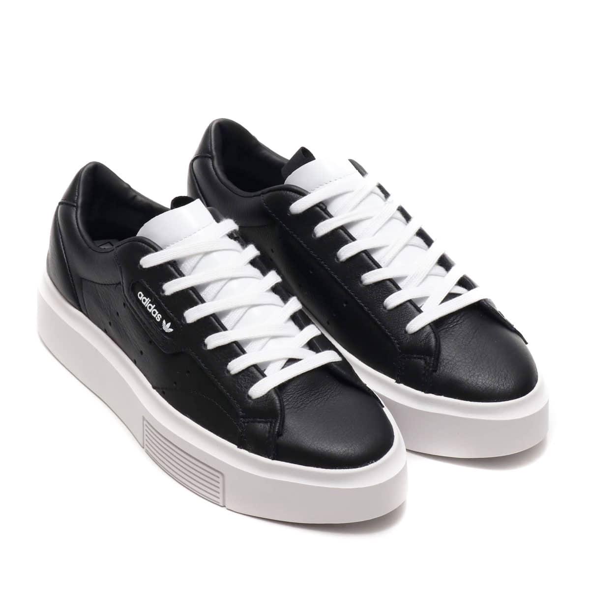adidas Originals SLEEK SUPER W CORE BLACK/CORE BLACK/RUNNING WHITE 19FW-S_photo_large
