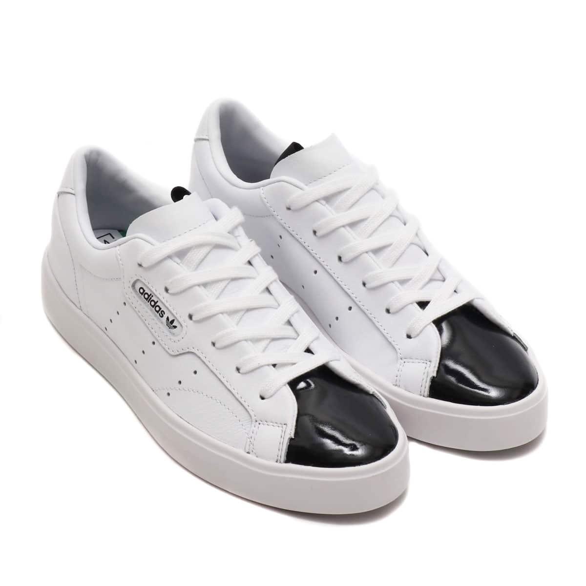 adidas Originals SLEEK W RUNNING WHITE/RUNNING WHITE/CORE BLACK 19FW-S_photo_large