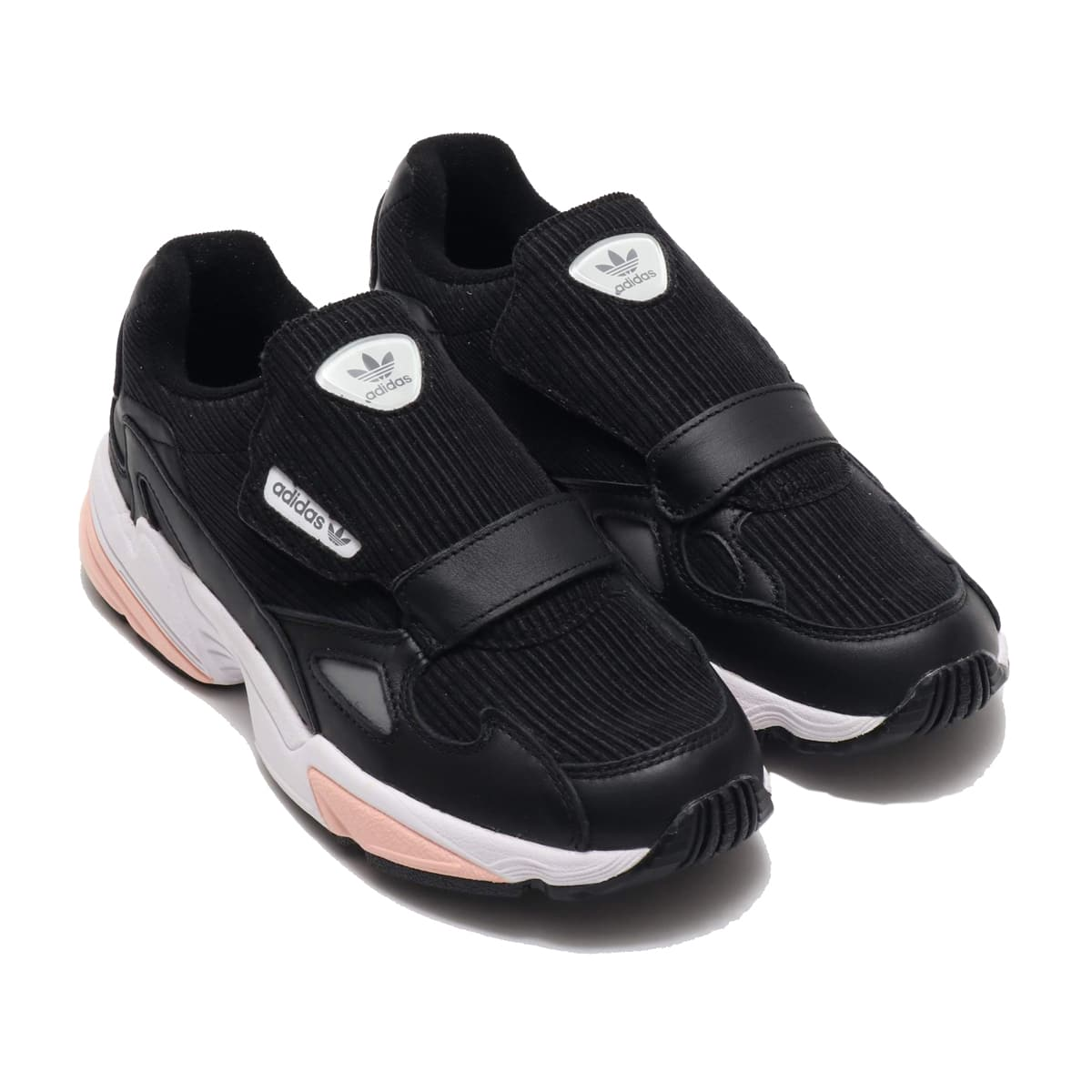 adidas Originals ADIDASFALCON RX W CORE BLACK/GLOW PINK/GREY THREE 19FW-I_photo_large