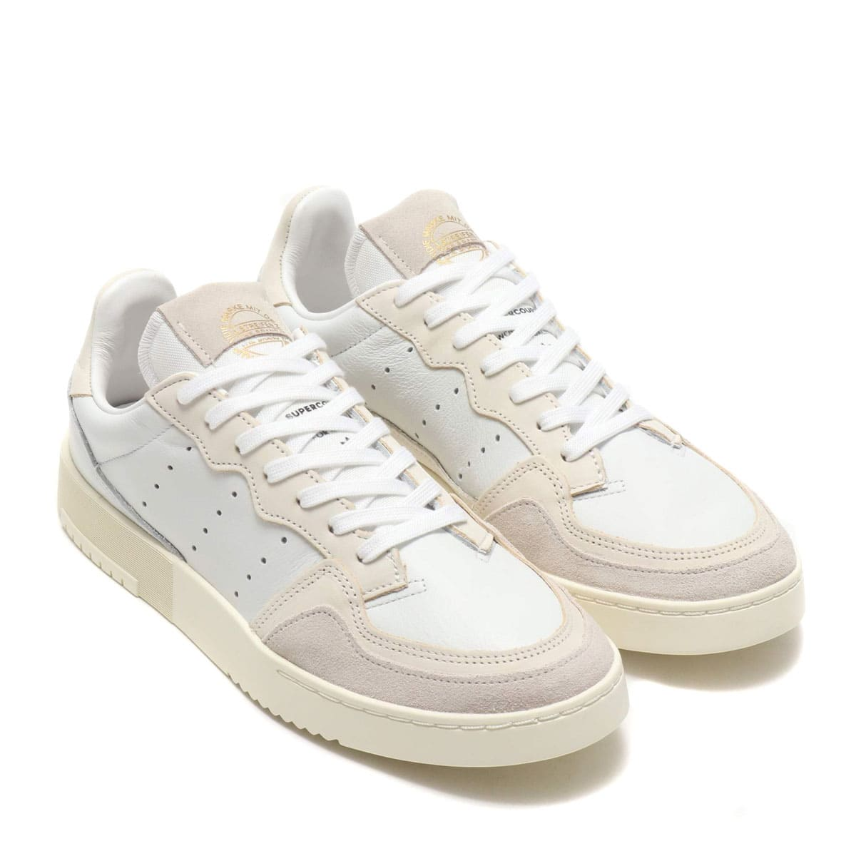 adidas Originals SUPERCOURT CRYSTAL WHITE/CHALK WHITE/OFF WHITE 19FW-I_photo_large
