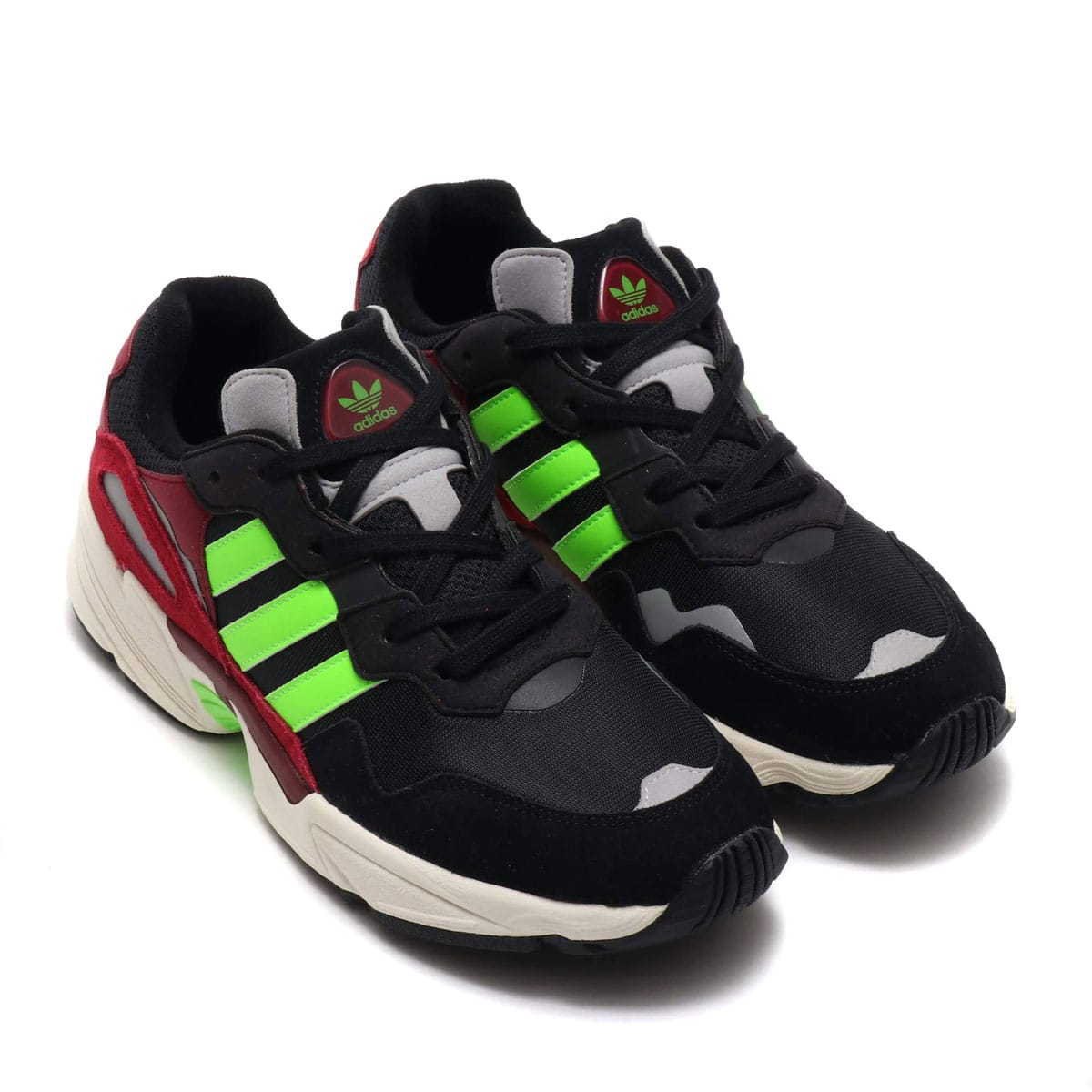 adidas Originals YUNG-96 CORE BLACK/SOLAR GREEN/COLLEGEATE BURGUNDY 19FW-I_photo_large