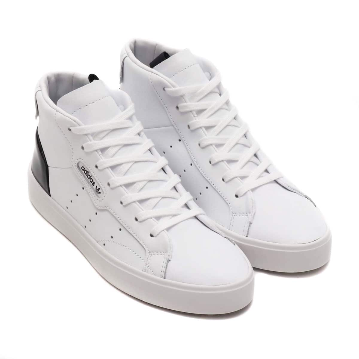 adidas Originals SLEEK MID W RUNNING WHITE/RUNNING WHITE/CORE BLACK 19FW-S_photo_large