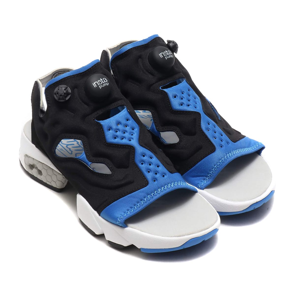 Reebok INSTAPUMP FURY SANDAL BLACK/ECHBLU/STEEL 19SS-I_photo_large