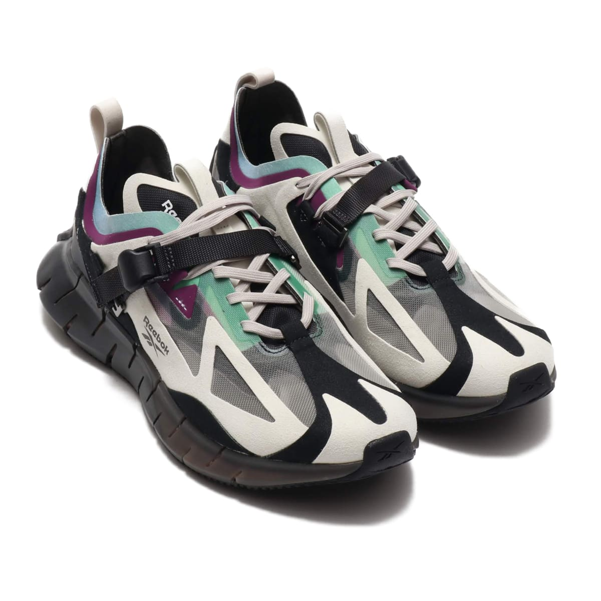 Reebok ZIG KINETICA IAN PALEY SAND STONE/BLACK/EMERALD ICE 19FW-S_photo_large