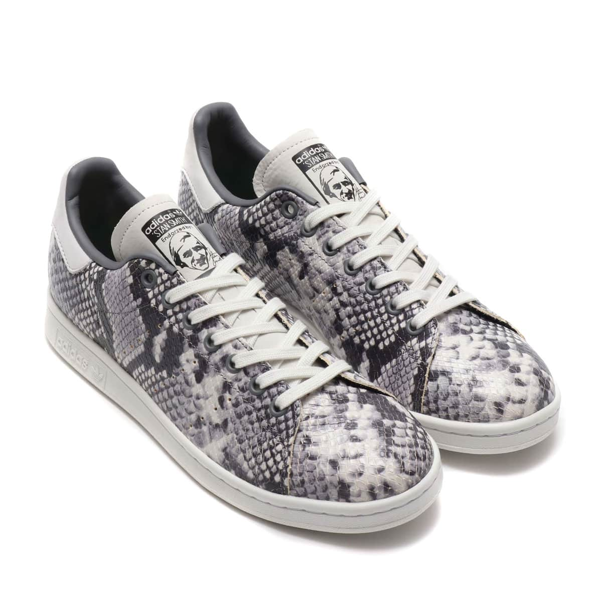 adidas Originals STAN SMITH CRYSTAL WHITE/CRYSTAL WHITE/CORE BLACK 19FW-S_photo_large