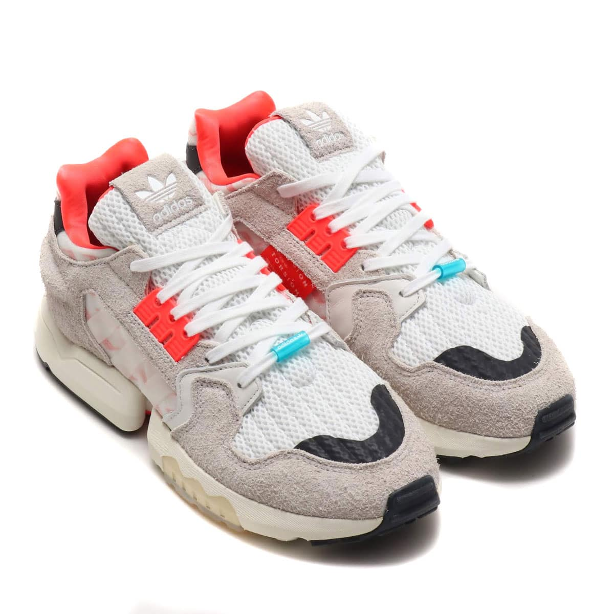 adidas Originals ZX TORSION RUNNING WHITE/CRYSTAL WHITE/SOLAR RED 19FW-S_photo_large