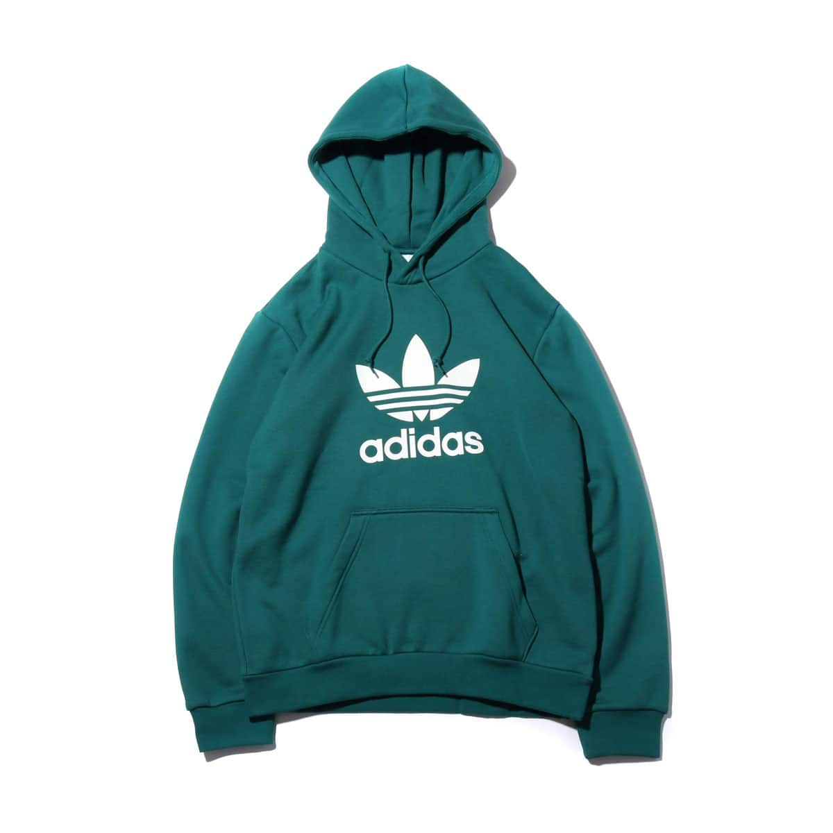 adidas TREFOIL HOODIE NOBLE GREEN/WHITE 19FW-I_photo_large