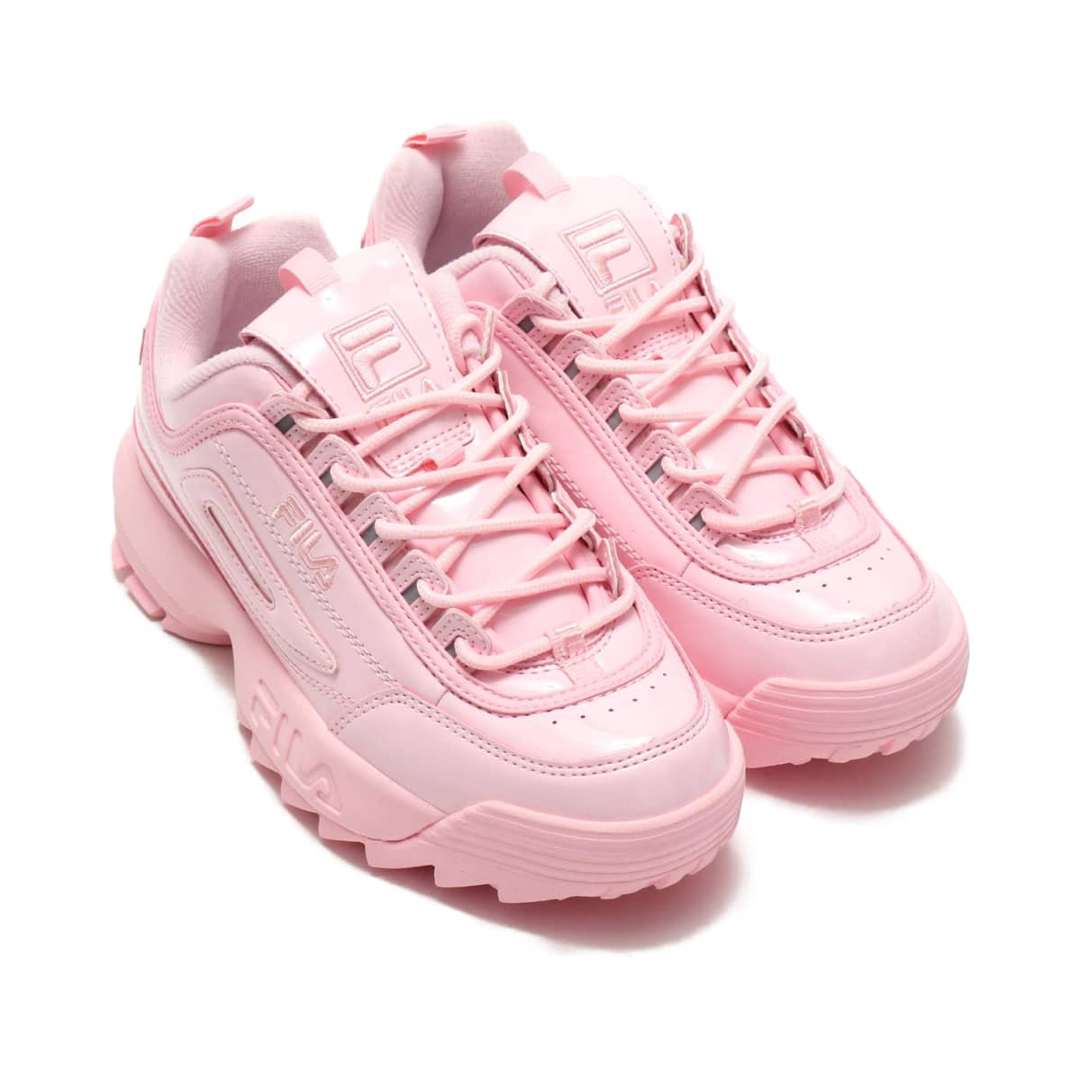 FILA DISRUPTOR2 Patent  CHALK PINK_photo_large