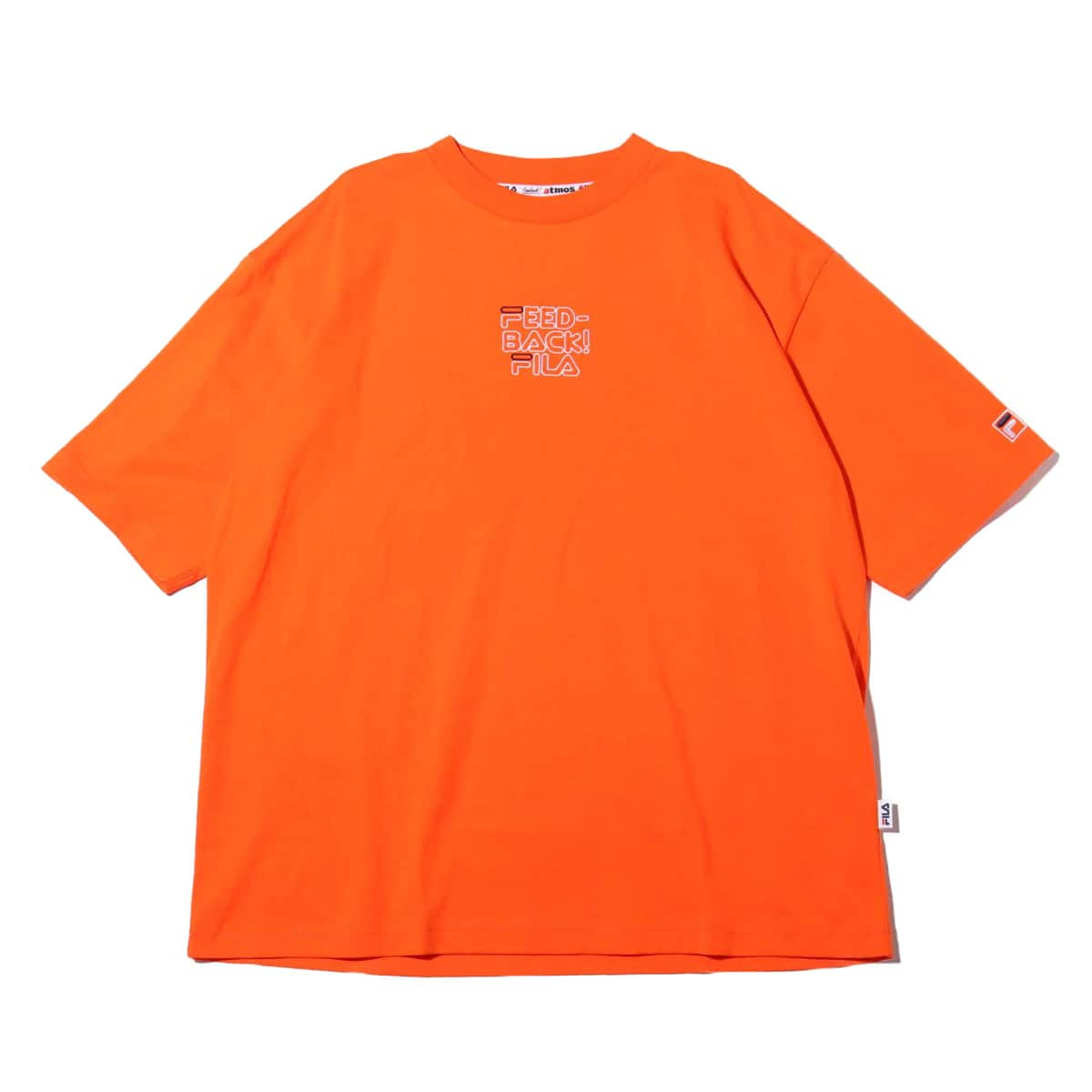 Feedback!×FILA×atmos pink EMBRO T-SHIRT ORANGE 19SU-S_photo_large