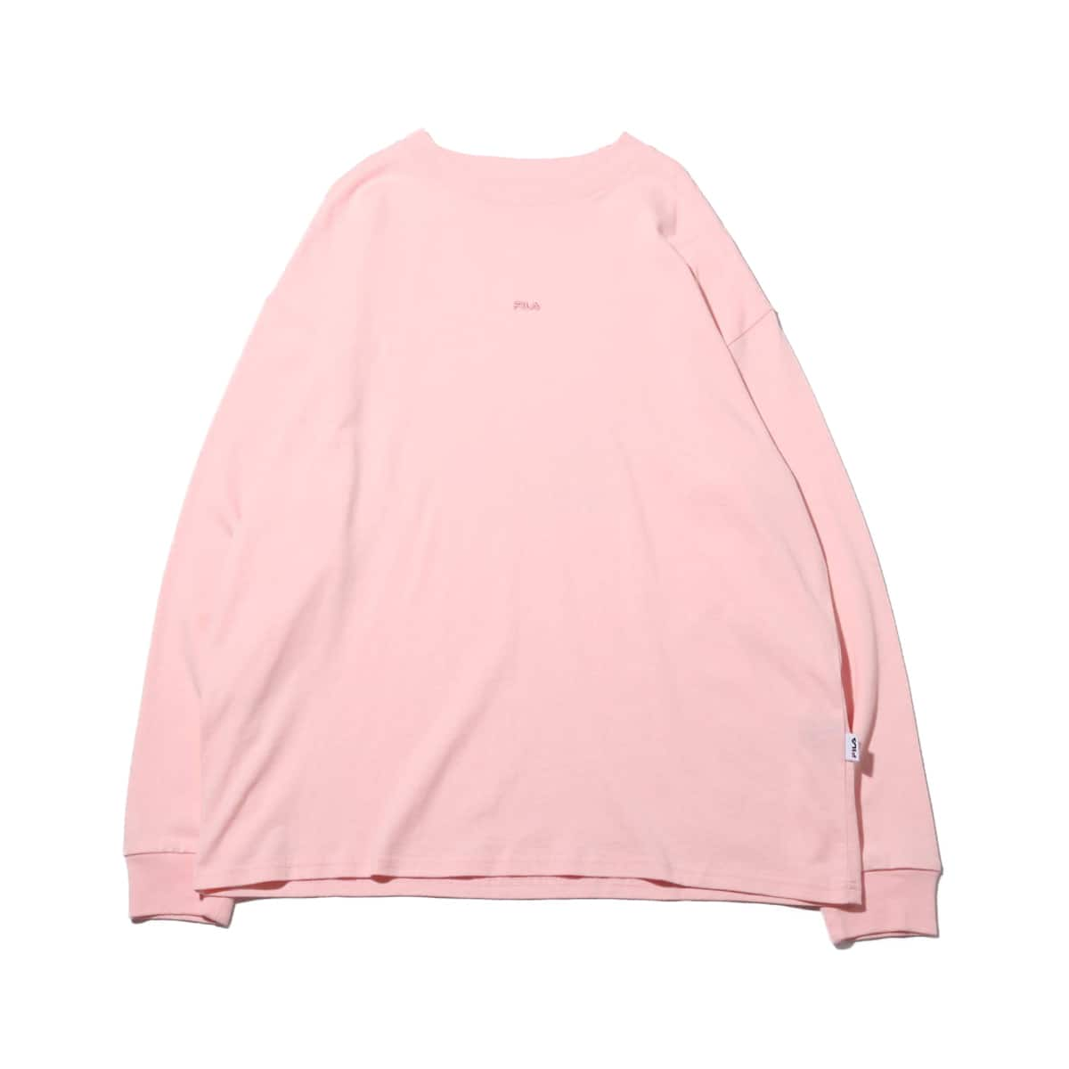 AMI × FILA × atmos pink LONG SLEEVE-T-SHIRT PINK 19FW-S_photo_large