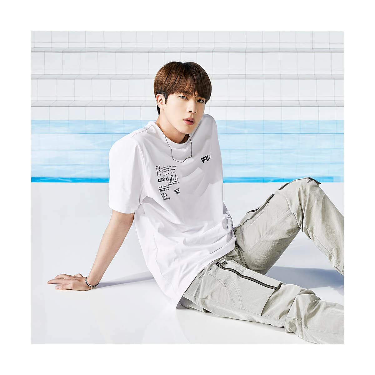 FILA BTS着用モデル Tシャツ WHITE 21SS-I_photo_large