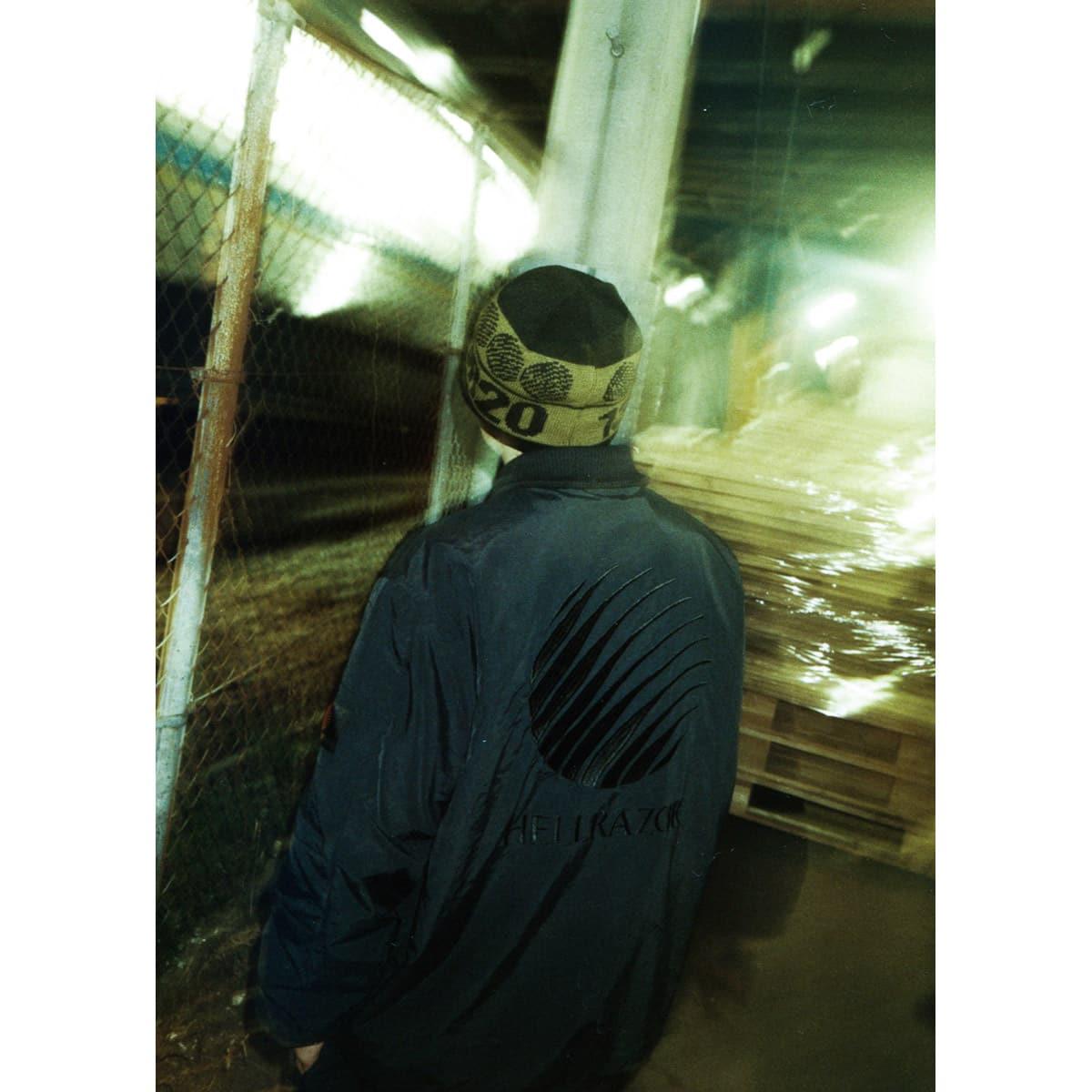 FILA x HELLRAZOR RUFF RIDE JACKET BLACK 21SS-I_photo_large