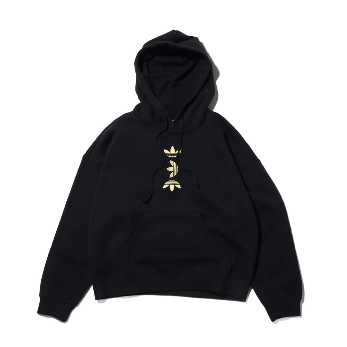 adidas LRG LOGO HOODIE BLACK/GOLD METRIC 20SS-I_photo_large