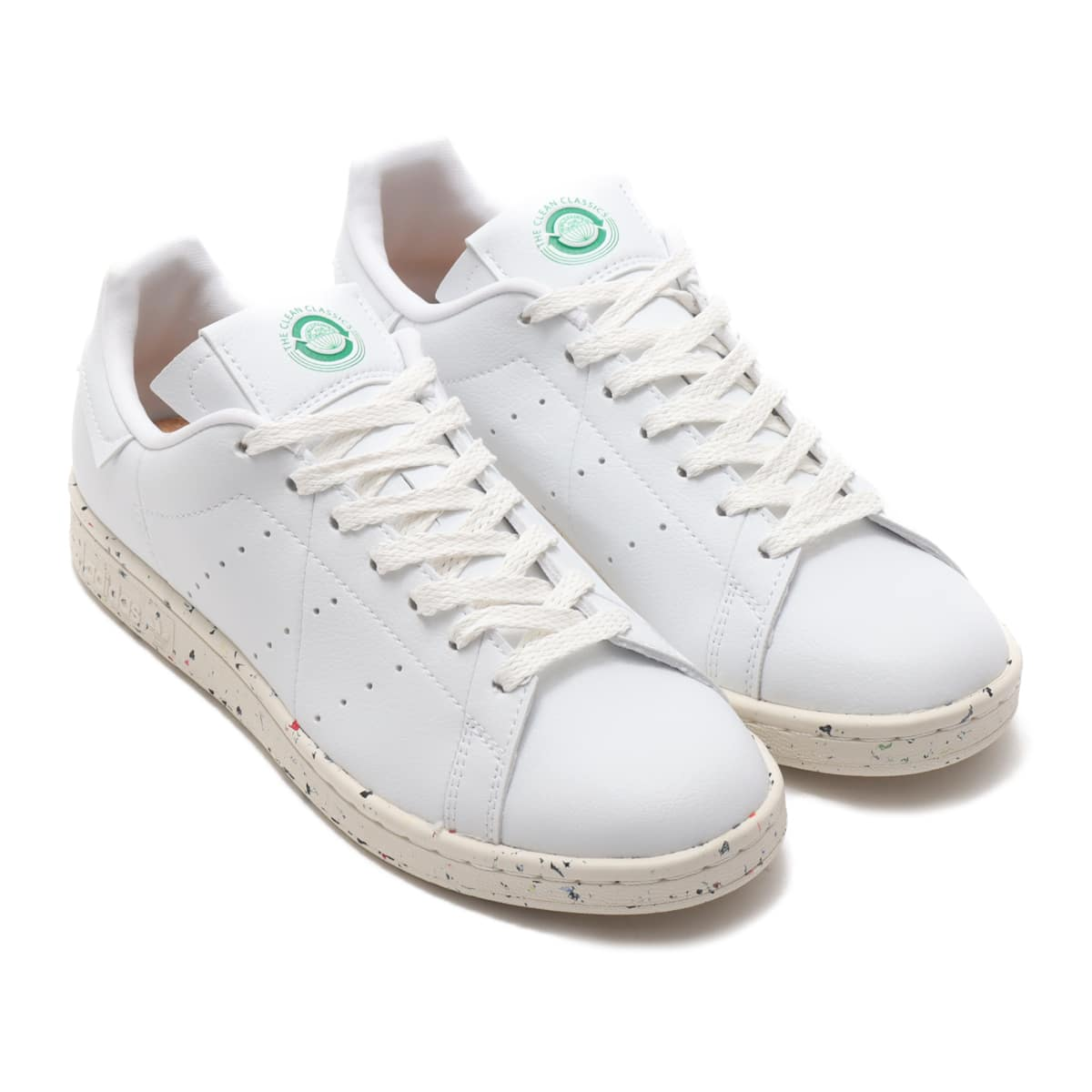 adidas STAN SMITH FOOTWEAR WHITE/OFF WHITE/GREEN 20FW-I_photo_large
