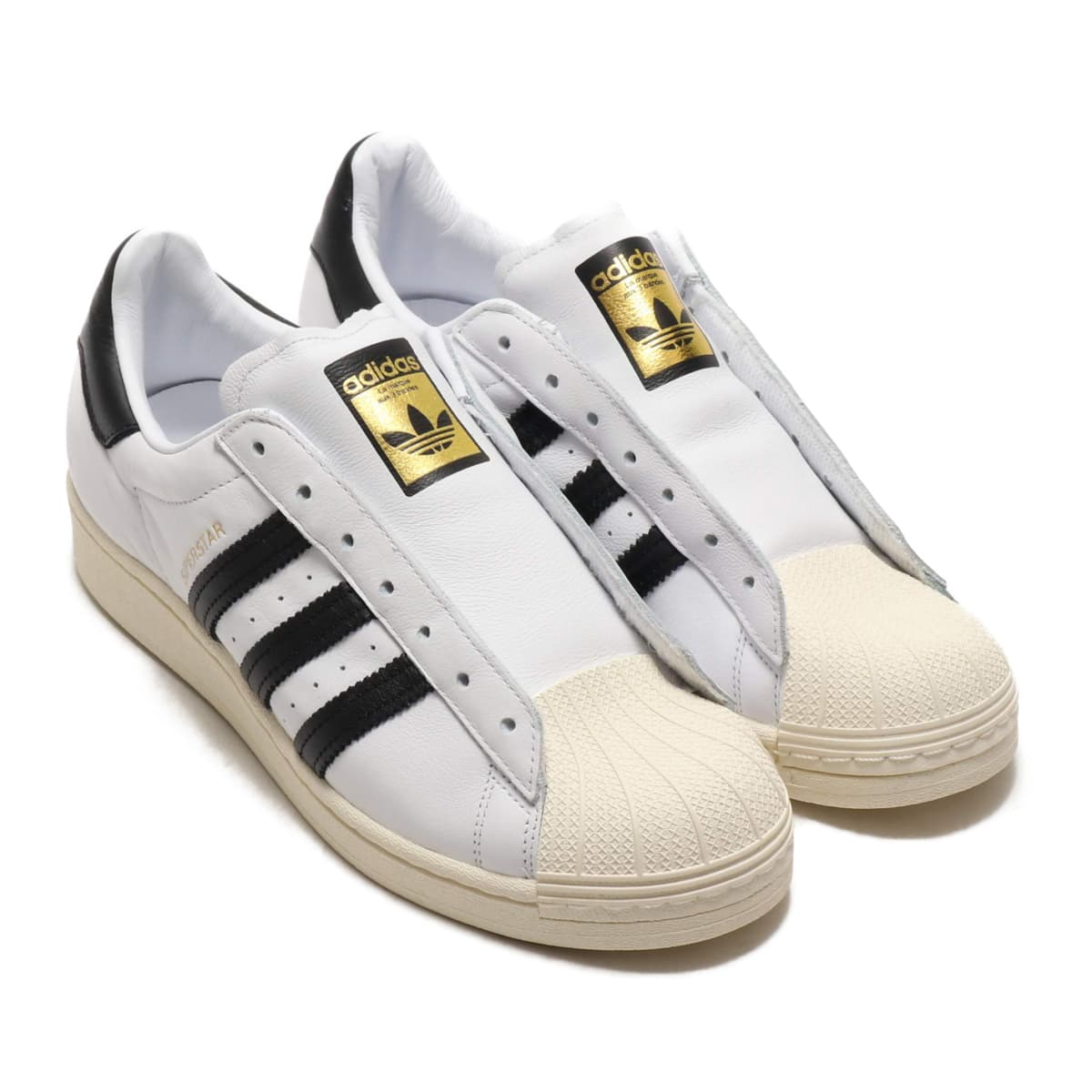 adidas SUPERSTAR LACELESS FOOTWEAR WHITE/CORE BLACK/FOOTWEAR WHITE 20SS-S_photo_large